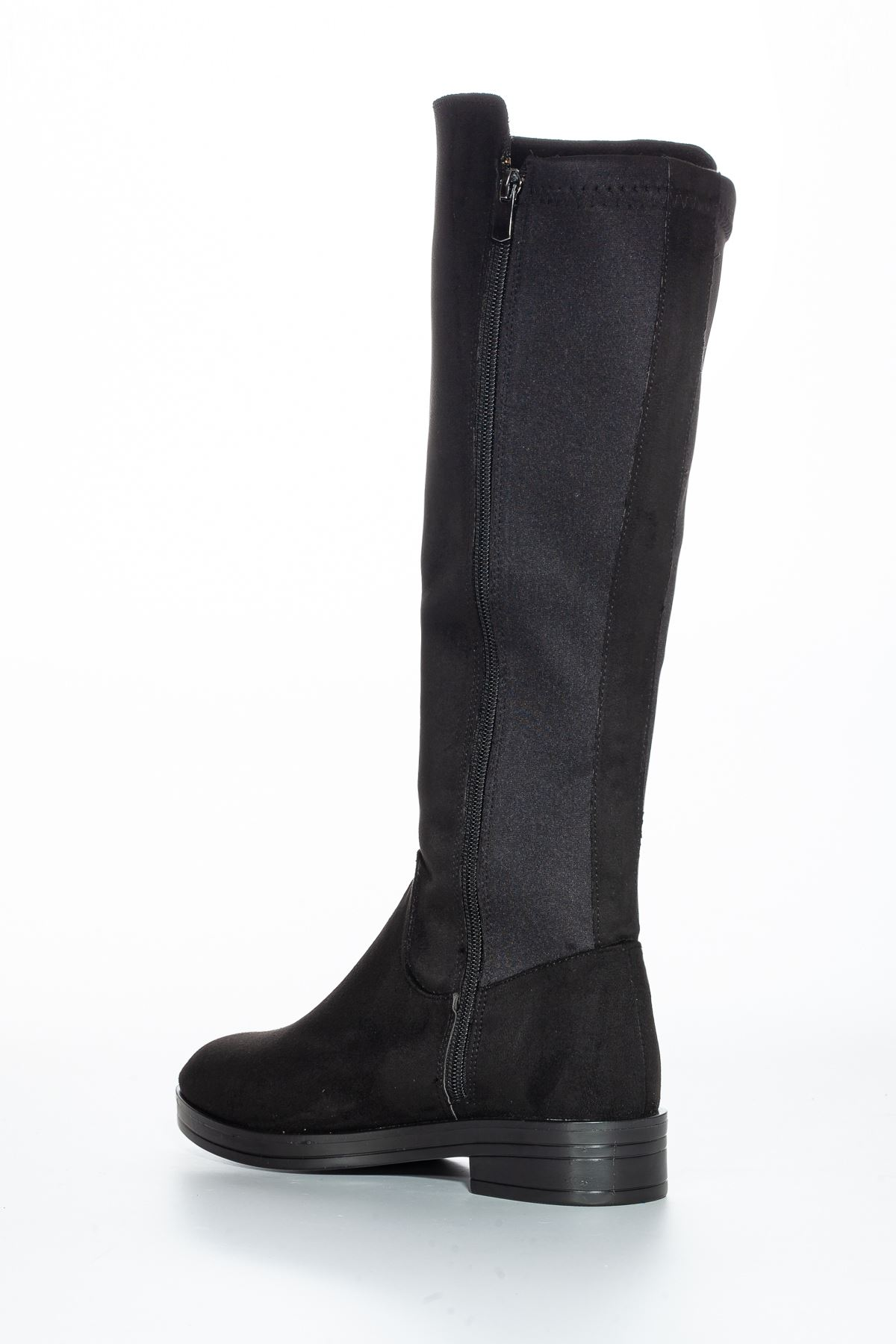 Vensis Süet Çizme Siyah