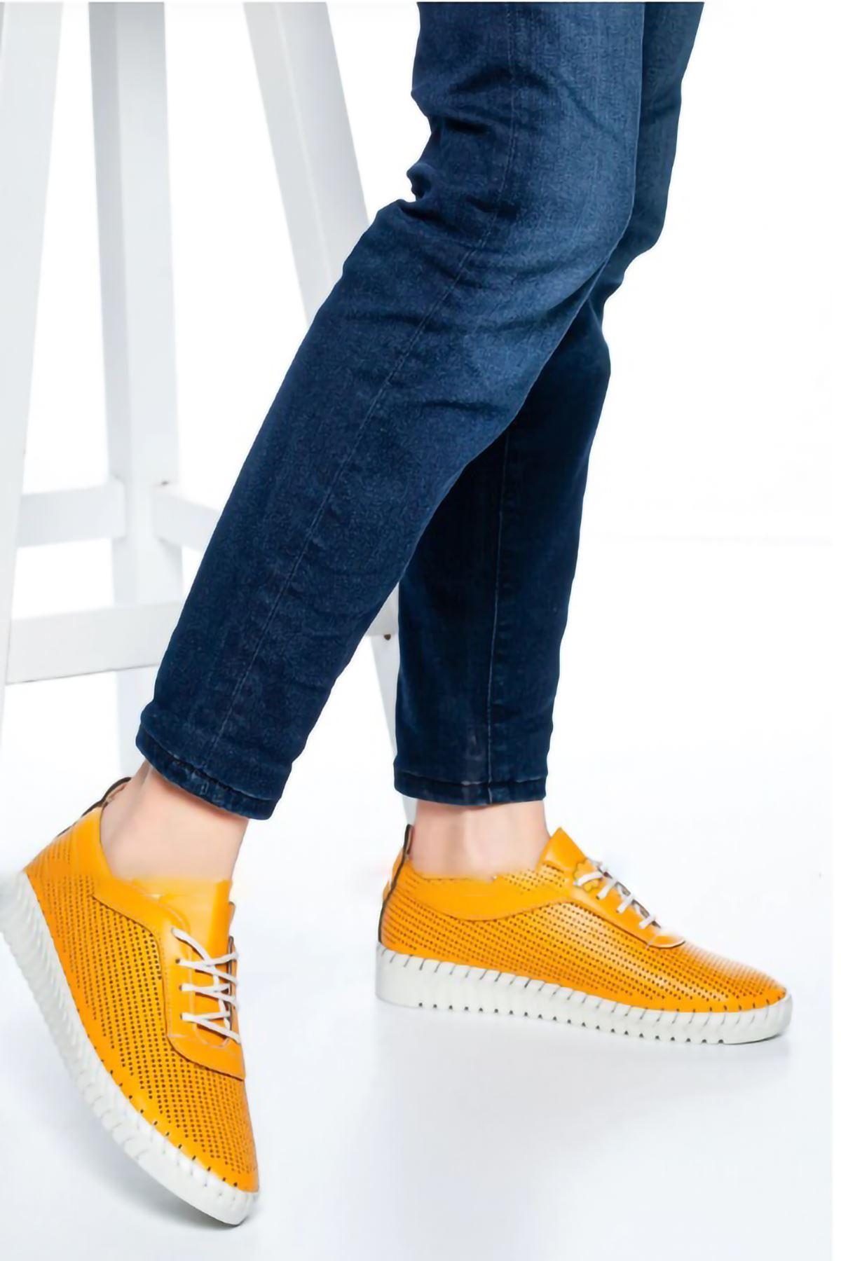 Harper Günlük Ayakkabı Hardal