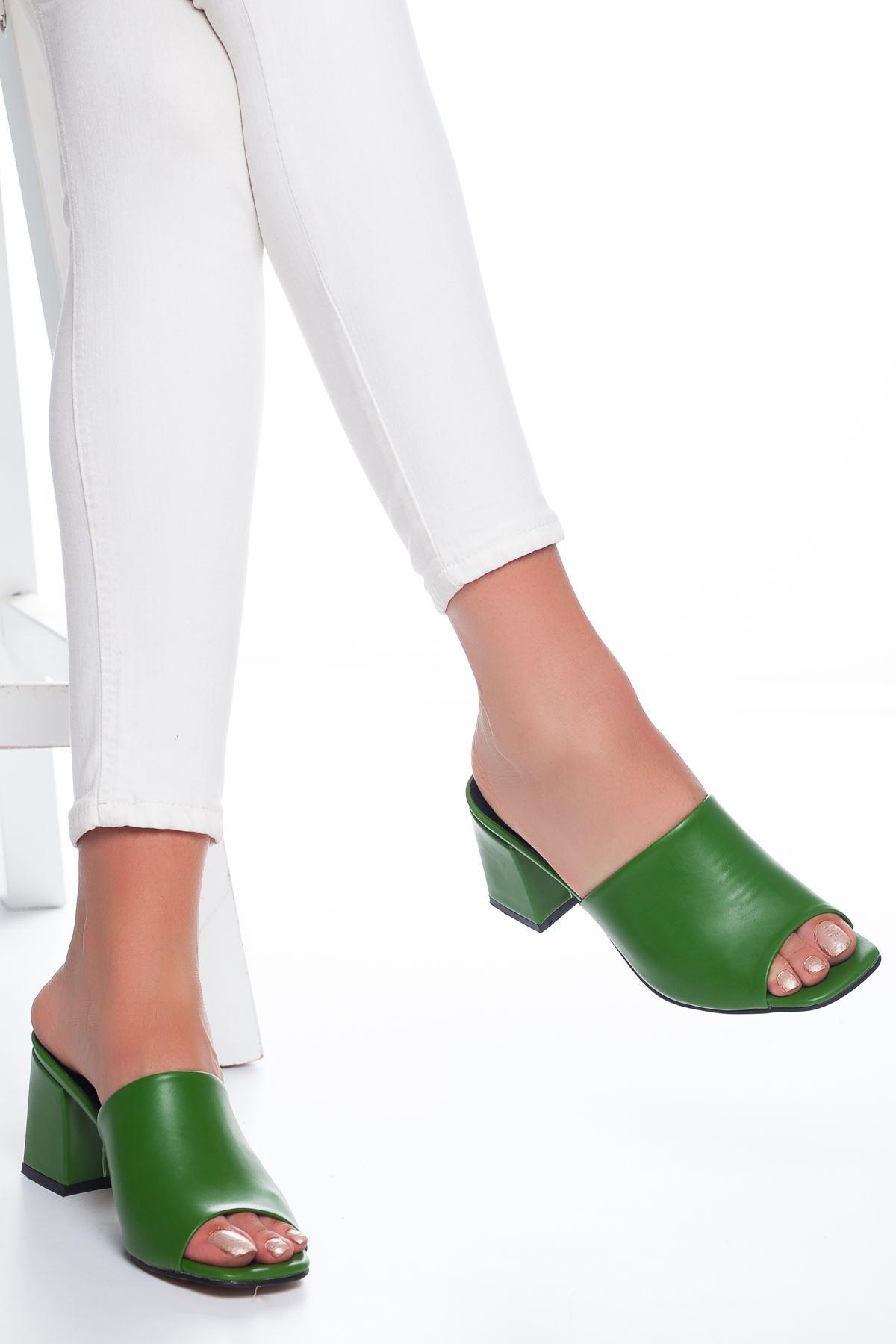 Lavinia Deri Terlik Yeşil