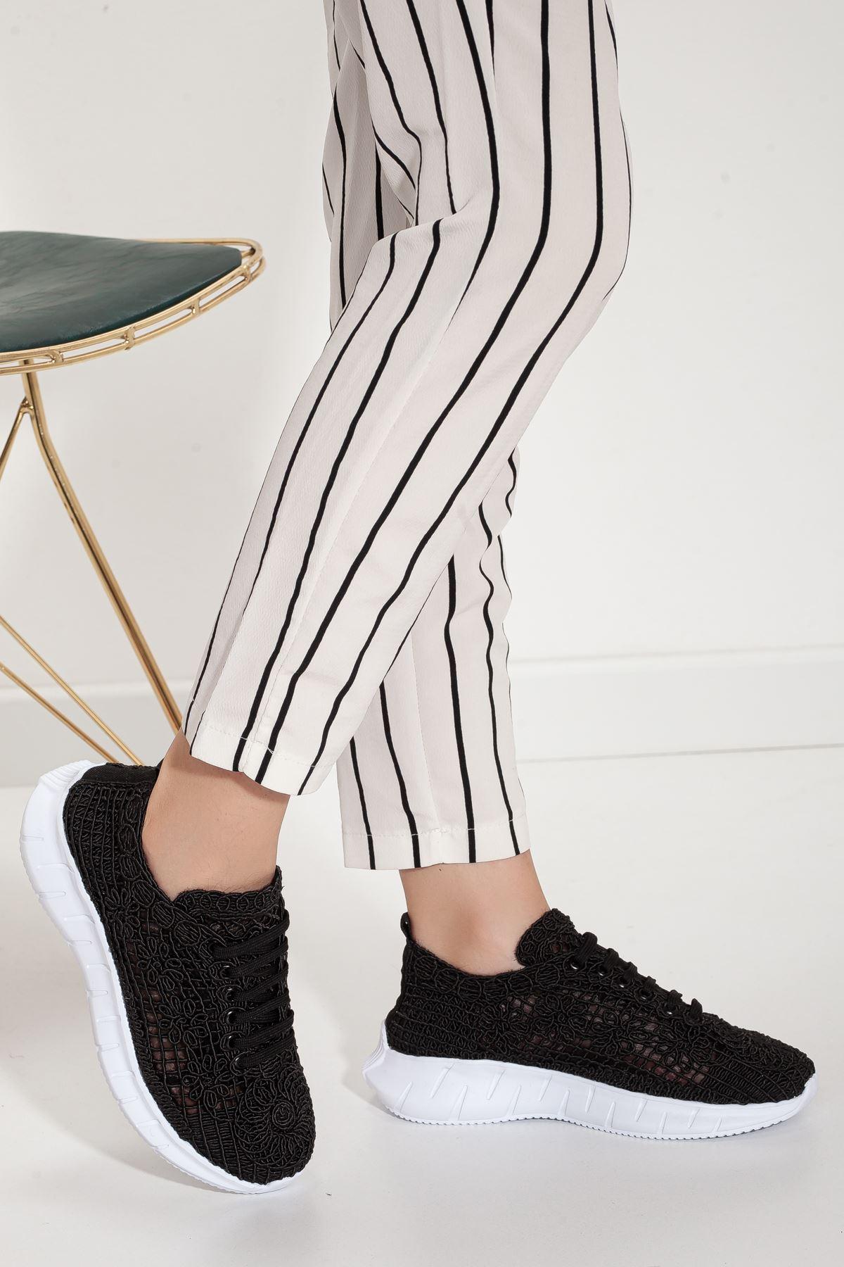 stello spor ayakkabı Siyah
