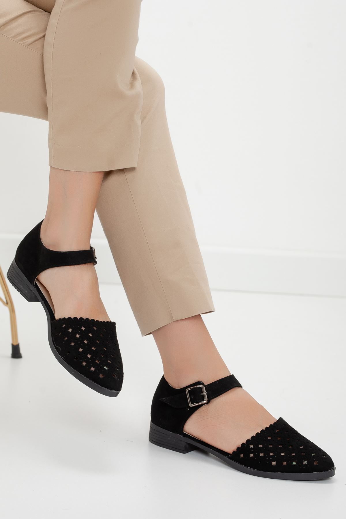 DİABLO babet ayakkabı Siyah