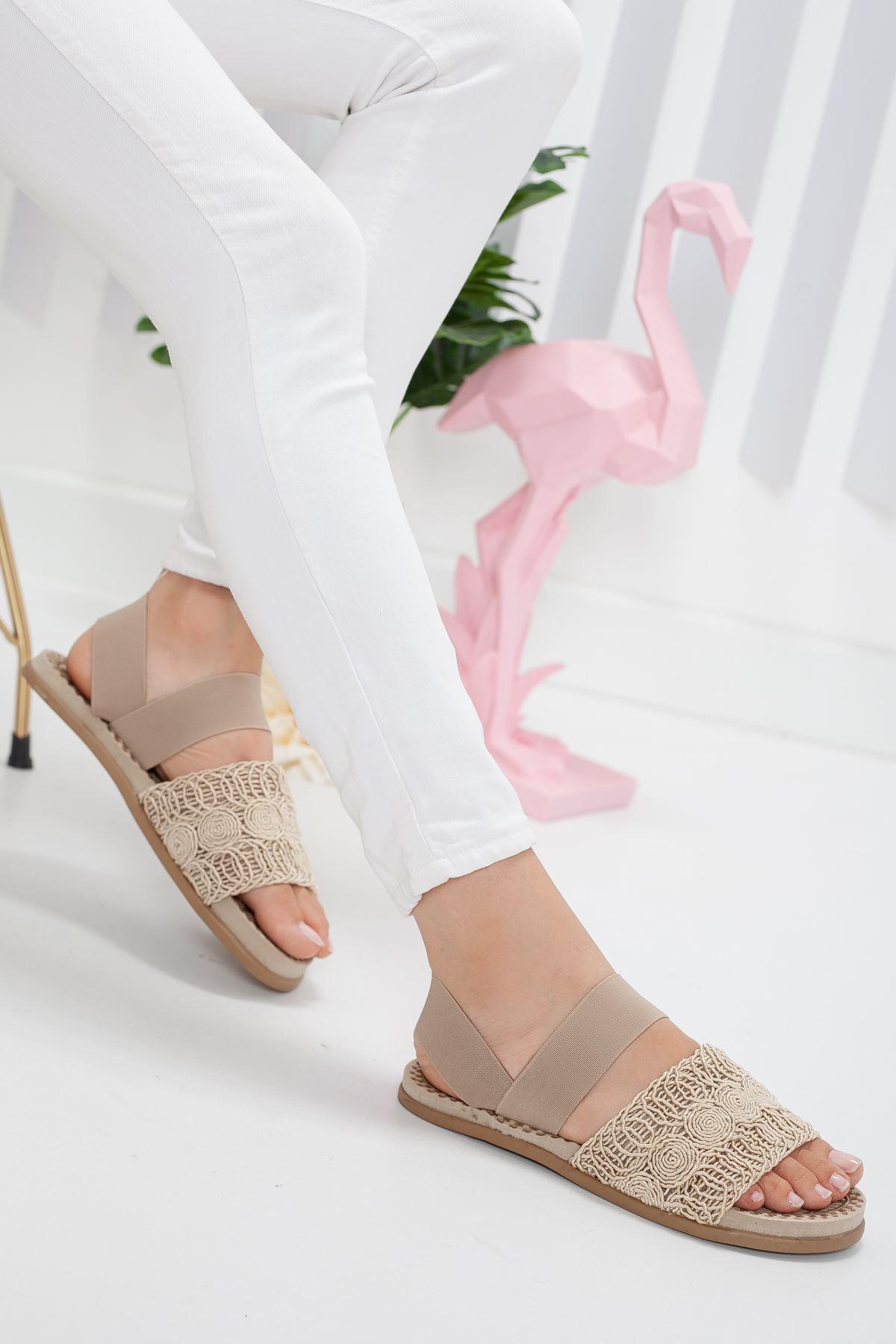 simone sandalet terlik Ten